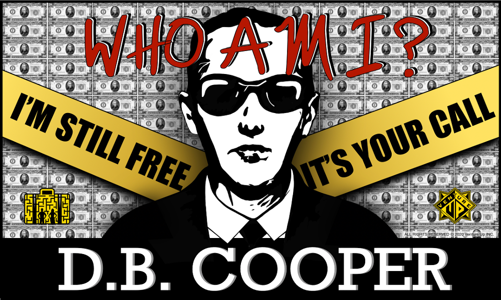 DB Cooper - Who Am I?