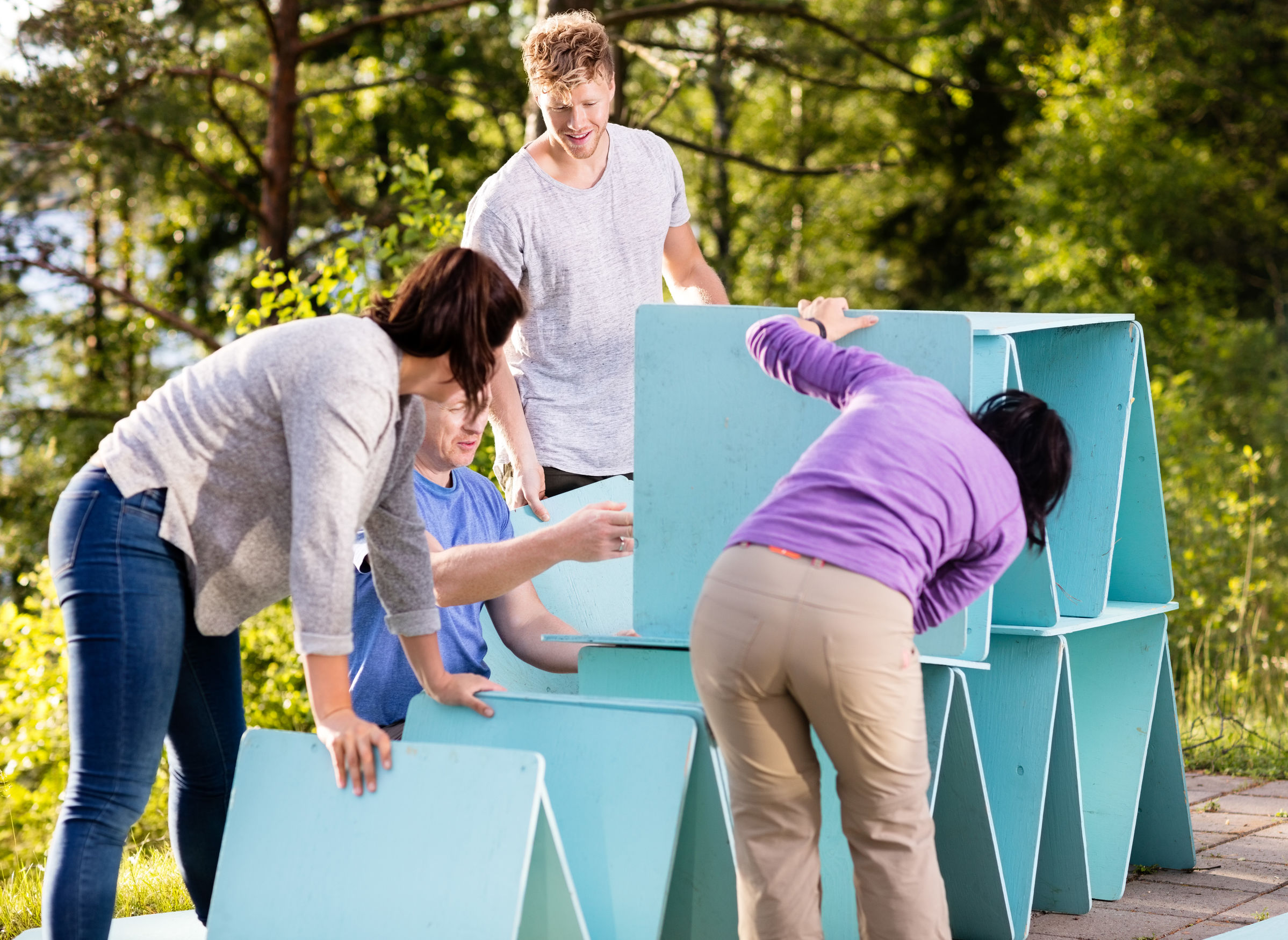 4 Benefits of Corporate Team Building Activities for Your Employees